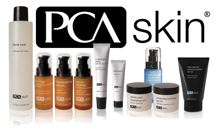 PCA Skin - Medical-Grade Skin Care Products line
